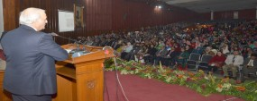 PU VC seeks new ideas to solve country's problem